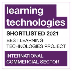 Learning Technologies shortlisted 2021