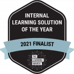 Internal Learning Solution of the Year 2021 Finalist logo