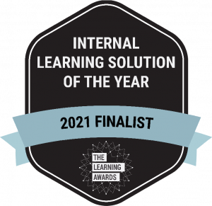 Internal Learning Solution of the Year 2021 Finalist
